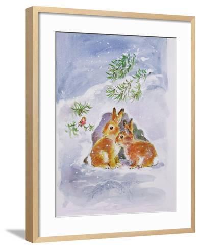 A Christmas Message-Diane Matthes-Framed Art Print