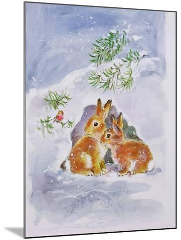 A Christmas Message-Diane Matthes-Mounted Giclee Print