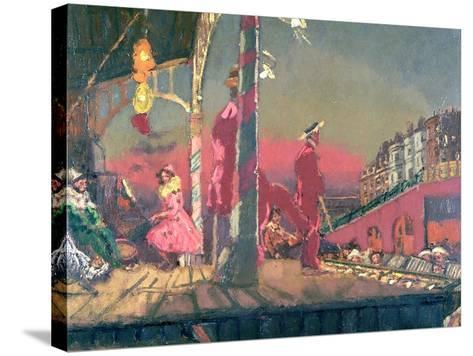 Brighton Pierrots-Walter Richard Sickert-Stretched Canvas Print