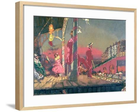 Brighton Pierrots-Walter Richard Sickert-Framed Art Print