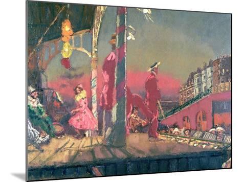 Brighton Pierrots-Walter Richard Sickert-Mounted Giclee Print