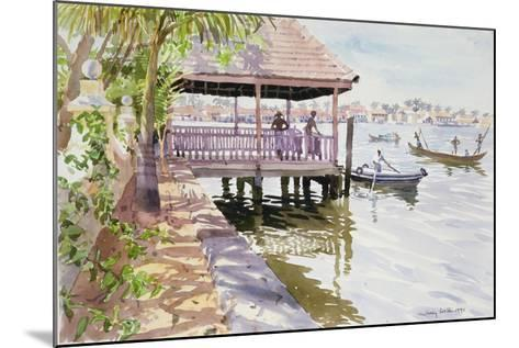 The Jetty, Cochin, 1991-Lucy Willis-Mounted Giclee Print