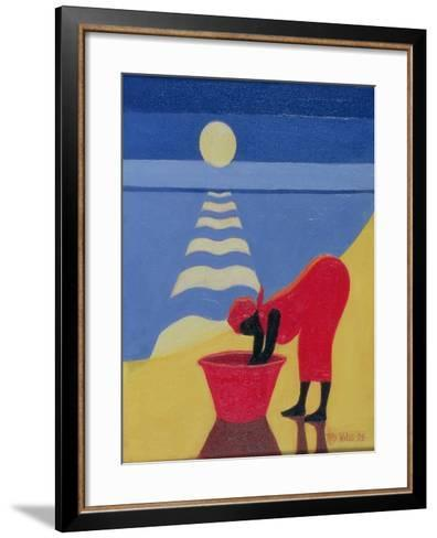 By the Sea Shore, 1998-Tilly Willis-Framed Art Print