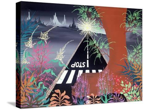 I Hope the Jungle Never Dies-Herbert Hofer-Stretched Canvas Print
