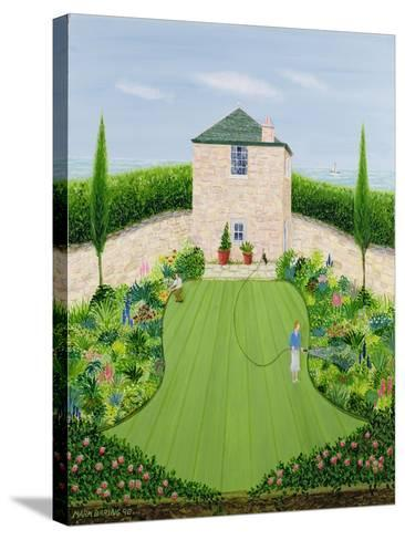 Garden by the Sea-Mark Baring-Stretched Canvas Print