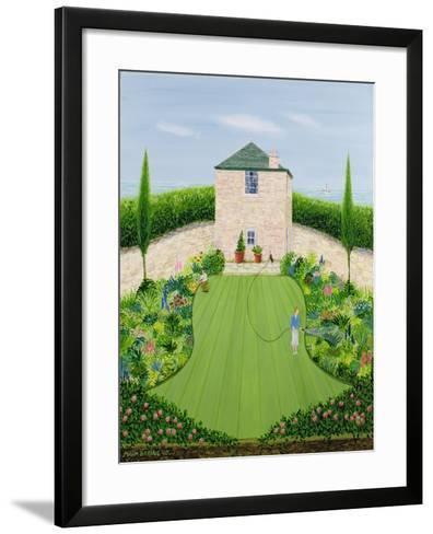 Garden by the Sea-Mark Baring-Framed Art Print