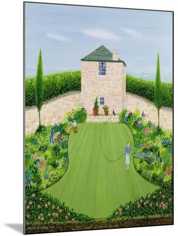 Garden by the Sea-Mark Baring-Mounted Giclee Print