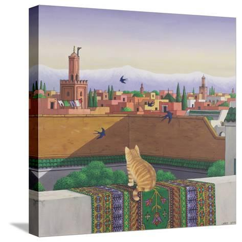 Rooftops in Marrakesh, 1989-Larry Smart-Stretched Canvas Print