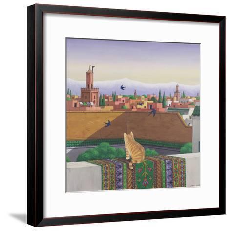 Rooftops in Marrakesh, 1989-Larry Smart-Framed Art Print