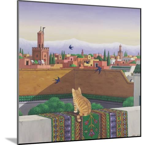 Rooftops in Marrakesh, 1989-Larry Smart-Mounted Giclee Print
