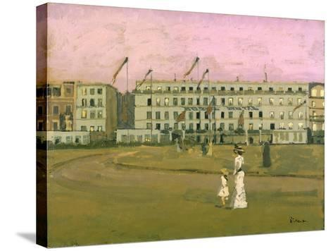 L'Hotel Royal, Dieppe-Walter Richard Sickert-Stretched Canvas Print