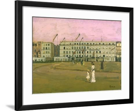 L'Hotel Royal, Dieppe-Walter Richard Sickert-Framed Art Print