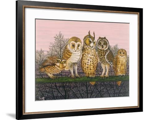 Tu-Whit Tu-Whooing-Pat Scott-Framed Art Print