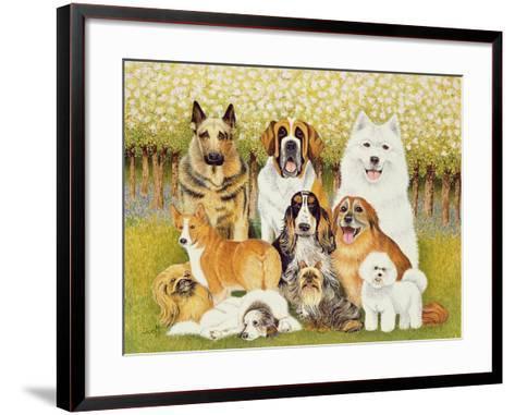 Dogs in May-Pat Scott-Framed Art Print
