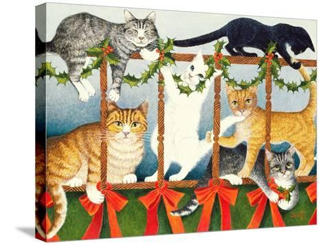 Party Games-Pat Scott-Stretched Canvas Print