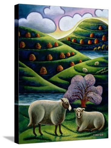 Tete a Tete-Jerzy Marek-Stretched Canvas Print