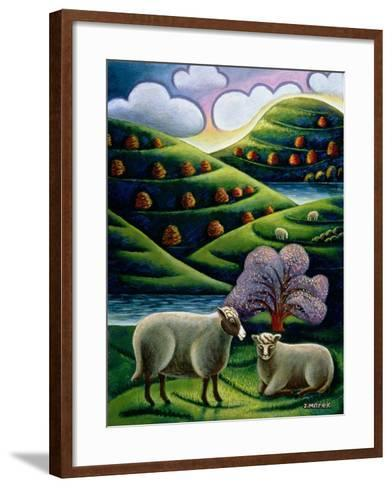 Tete a Tete-Jerzy Marek-Framed Art Print