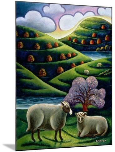 Tete a Tete-Jerzy Marek-Mounted Giclee Print