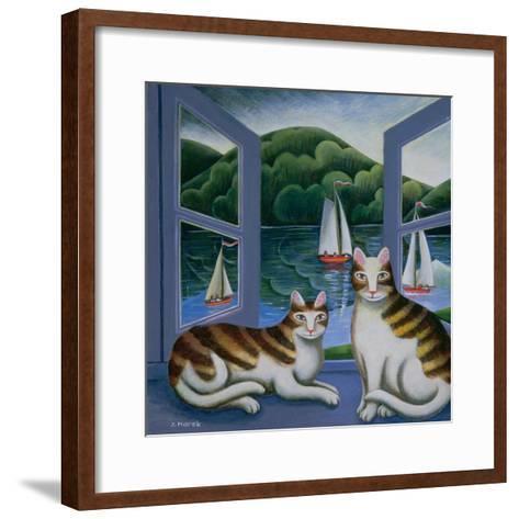 Bonny and Clyde-Jerzy Marek-Framed Art Print