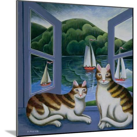 Bonny and Clyde-Jerzy Marek-Mounted Giclee Print
