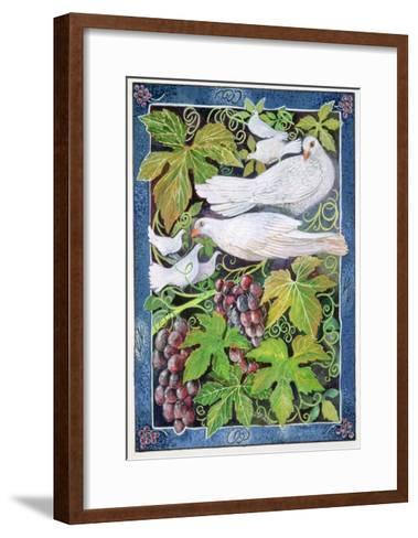 Doves, 1996-Lisa Graa Jensen-Framed Art Print