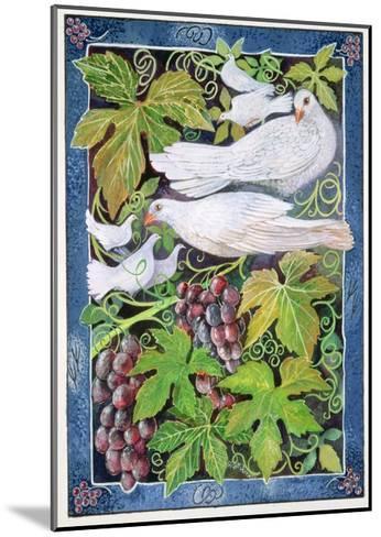 Doves, 1996-Lisa Graa Jensen-Mounted Giclee Print
