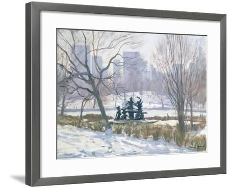 The Alice in Wonderland Statue, Central Park, New York, 1997-Julian Barrow-Framed Art Print