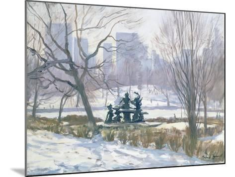 The Alice in Wonderland Statue, Central Park, New York, 1997-Julian Barrow-Mounted Giclee Print