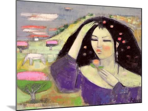 Tomoko Dreaming in English III-Endre Roder-Mounted Giclee Print