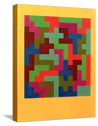 Puzzle II, 1988-Peter McClure-Stretched Canvas Print