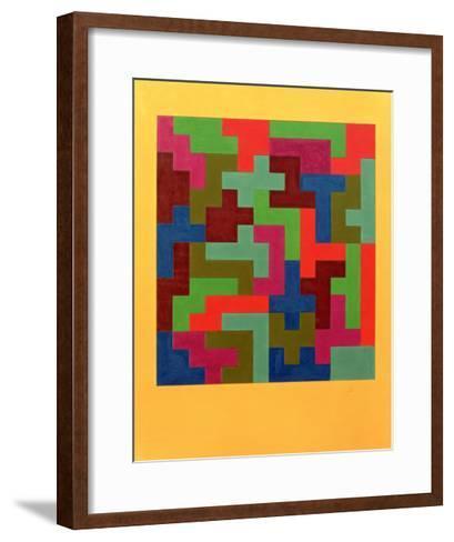Puzzle II, 1988-Peter McClure-Framed Art Print