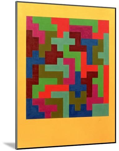 Puzzle II, 1988-Peter McClure-Mounted Giclee Print