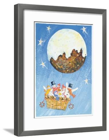 Up, Up and Away-David Cooke-Framed Art Print