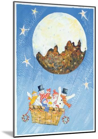 Up, Up and Away-David Cooke-Mounted Giclee Print