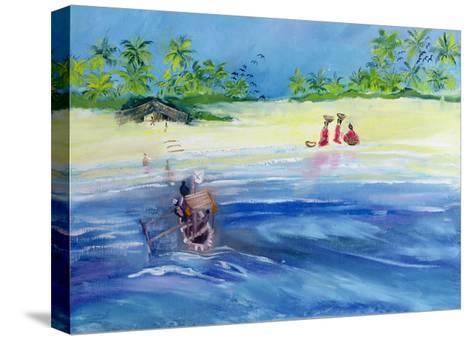 Candolim Beach, Goa, India, 1998-Sophia Elliot-Stretched Canvas Print