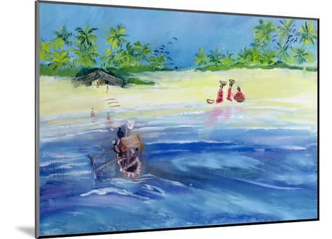 Candolim Beach, Goa, India, 1998-Sophia Elliot-Mounted Giclee Print