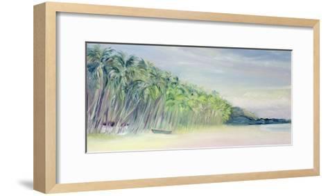 Coco Beach, Goa, India, 1997-Sophia Elliot-Framed Art Print