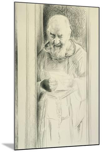 Padre Pio, 1988-89-Antonio Ciccone-Mounted Giclee Print
