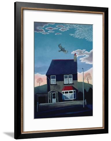 24 Lakeber Avenue, 1986-Lucy Raverat-Framed Art Print