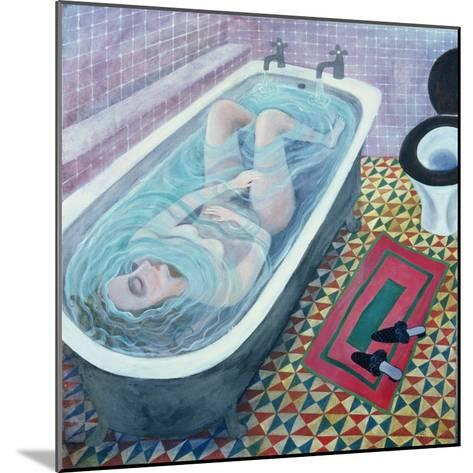 Dreaming in the Bath, 1991-Lucy Raverat-Mounted Giclee Print