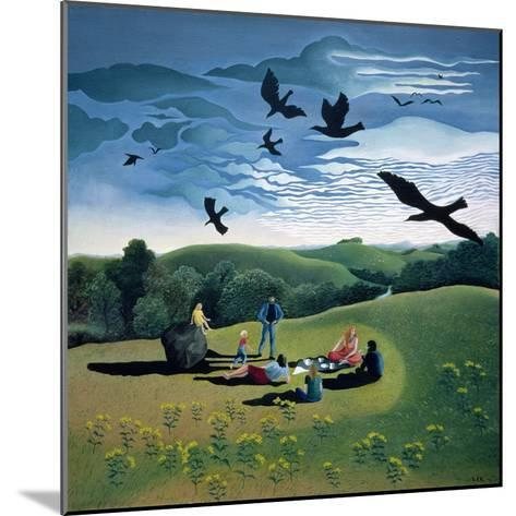 The Picnic, C.1986-Lucy Raverat-Mounted Giclee Print