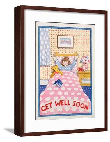 Get Well Soon-Lavinia Hamer-Framed Art Print