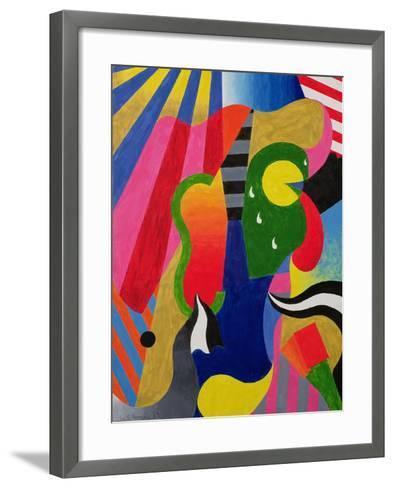 Concert, 1989-William Ramsay-Framed Art Print