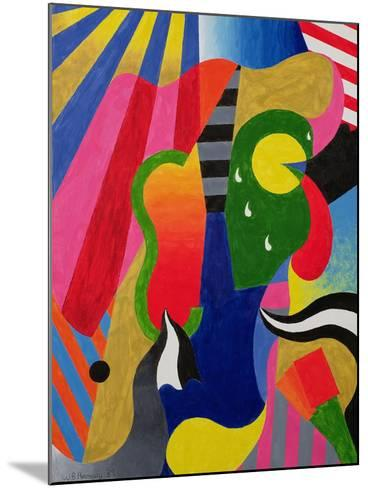 Concert, 1989-William Ramsay-Mounted Giclee Print