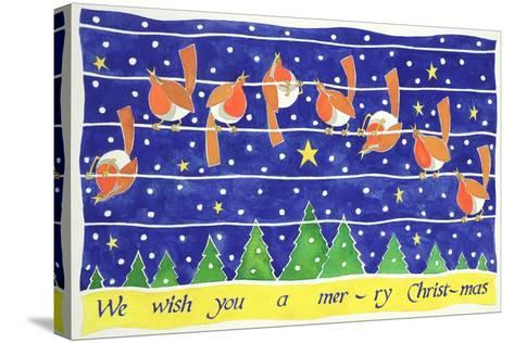 We Wish You a Merry Christmas-Cathy Baxter-Stretched Canvas Print