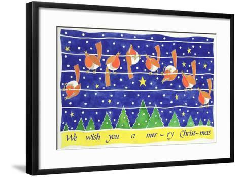 We Wish You a Merry Christmas-Cathy Baxter-Framed Art Print