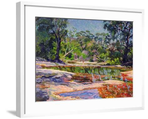 Wirreanda Creek, New South Wales, Australia-Robert Tyndall-Framed Art Print