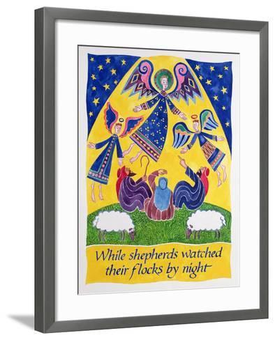 While Shepherds Watched their Flocks by Night-Cathy Baxter-Framed Art Print