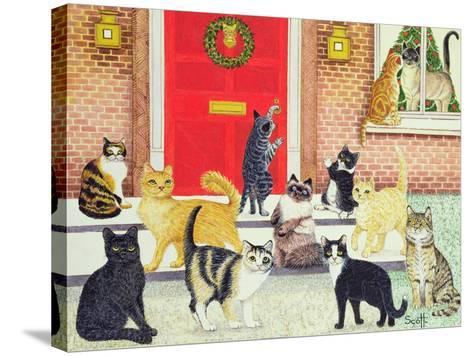 Christmas Carols-Pat Scott-Stretched Canvas Print