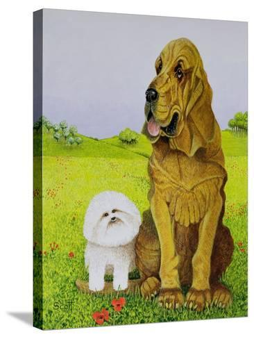 In Charge-Pat Scott-Stretched Canvas Print